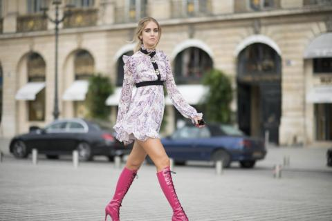Hot Pink Couture | The Blonde Salad